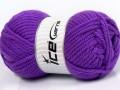 Atlas superbulky - purpurová 2