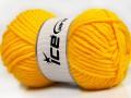 Atlas superbulky - žlutá