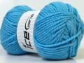 Atlaš - světle modrá