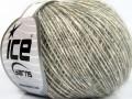 Baby alpaka merino bavlna - tmavě šedá