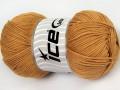 Baby bavlna 1 - světle hnědá 1