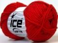 Baby bavlna - červená