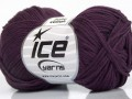 Baby bavlna - purpurová 1