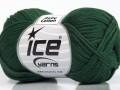 Baby bavlna - tmavě zelená