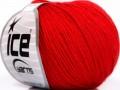 Baby Merino - červená 1
