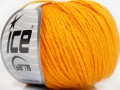 Baby merino DK - světle oranžová