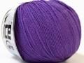 Baby Merino - purpurová