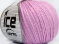 Baby merino soft DK - světle fialová