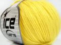 Baby merino soft DK - světle žlutá