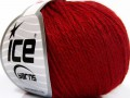 Baby merino soft DK - tmavě červená