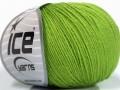 Baby Merino - zelená 1
