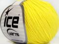 Baby modal - neonově žlutá