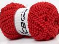 Baby pompom - červená