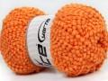 Baby pompom - oranžová