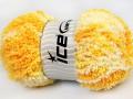 Baby Puffy - světle žlutozlatobílá