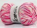 Bambino colorato - růžovofialovobílá
