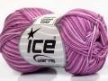 Bavlna Almina color - fialové odstíny