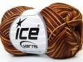 Bavlna Almina color - hnědé odstíny