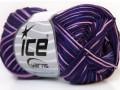 Bavlna Almina color - purpurovo odstínyrůžová