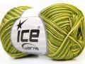 Bavlna Almina color - zelené odstíny