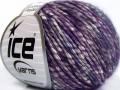 Bavlna pastel - purpurovotyrkysová