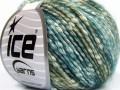 Bavlna pastel - tyrkysovozelené odstíny