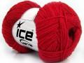 Bavlna soft - červená