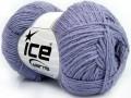 Bavlna soft - fialová