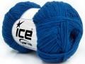 Bavlna soft - modrá