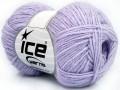 Bavlna soft - světle fialová