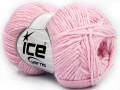 Bavlna soft - světle růžová