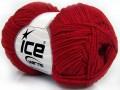 Bavlna soft - tmavě červená