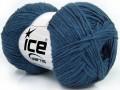 Bavlna soft - tmavě modrá
