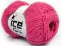 Bavlna soft - tmavě růžová