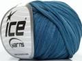 Bavlna tepe print - modré odstíny