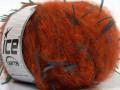 Begonia - oranžovokouřověmodrá