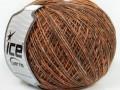 Bicol kašmír - hnědooranžovokrémová