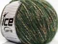 Bonbon tvíd - džunglově zelená