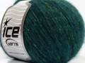 Bonbon tvíd - smaragdově zelená