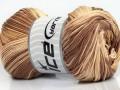 Camilla bavlna magic - hnědé odstíny