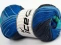 Camilla bavlna magic - modrozelenočerná