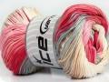 Camilla bavlna magic - růžovošedokrémová