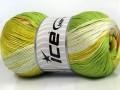 Camilla bavlna magic - zelenokaramelová