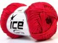 Camilla bavlna - rajčatovo červená