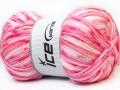 Candy baby - růžovébílé odstíny