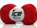 Čistá bavlna fajn new - červená