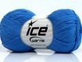 Čistá bavlna fajn new - modrá