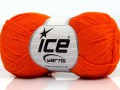 Čistá bavlna fajn new - oranžová