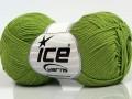 Čistá bavlna fajn new - pistáciově zelená 1