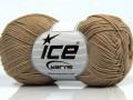 Čistá bavlna fajn new - světle velbloudí